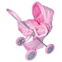Baby Doll Strollers: pink
