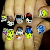 Disney princess nails | Nailed It | Pinterest