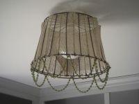 A DIY Clam Basket Lamp Shade! {My Hydrangea Home}