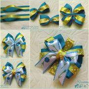 diy beautiful satin ribbon bow