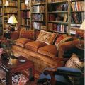 Cozy library corner shabby chic furniture ideas pinterest