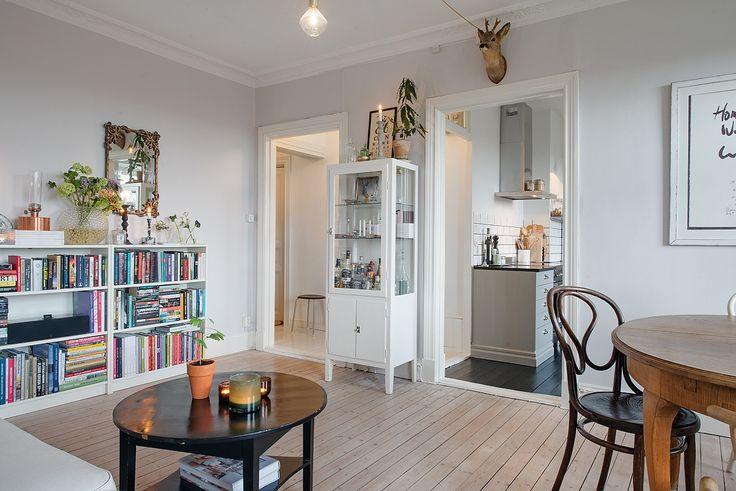 Interiores clasicos renovados. La esencia vintage en interiores nordicos
