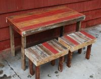 Dining Table: Pallet Dining Table