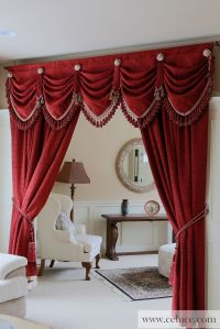 Pin by Ce Luce Curtains on Window Treatments - Swag ...
