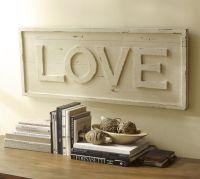 Love Wall Art | Pottery Barn | Decor | Pinterest