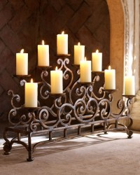 Horchow Ambella Fireplace Candelabrum | For the Home ...