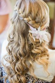 waterfall braid hairstyle hair
