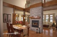 Fireplace between dining and living room | Ideas for our ...