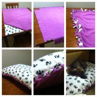 DIY no sew dog bed | Gift ideas | Pinterest