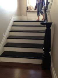 Painted Stairs   Stairs   Pinterest