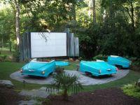 Awesome backyard theater +1 | backyard ideas | Pinterest