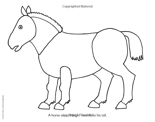Eric Carle Yellow Duck Coloring Coloring Pages