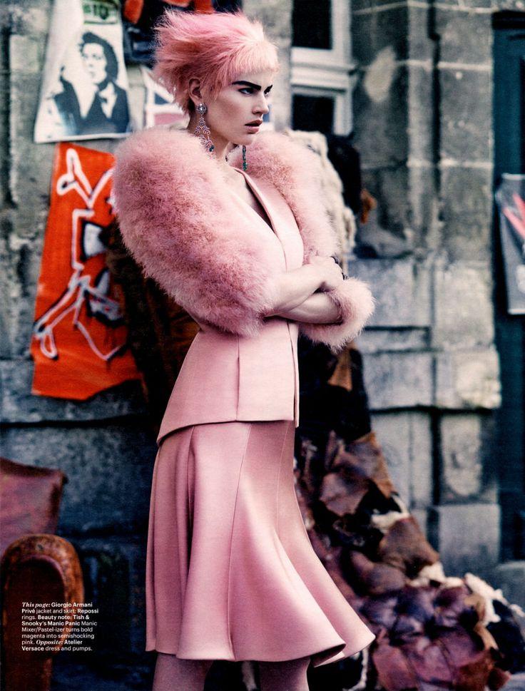 Saskia De Brauw av Craig McDean för W Magazine oktober 2013