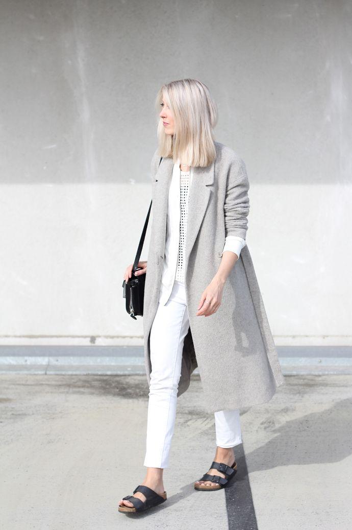 MyDubio | Outfit | all white |  Birkenstock