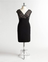 Lace Cocktail Dress | Lord and Taylor | Plus Size Goodness ...