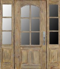 Renovating front door. Country French Exterior Wood Entry ...