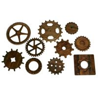 Decorative Gear & Cog wall art | for backyard | garden ...