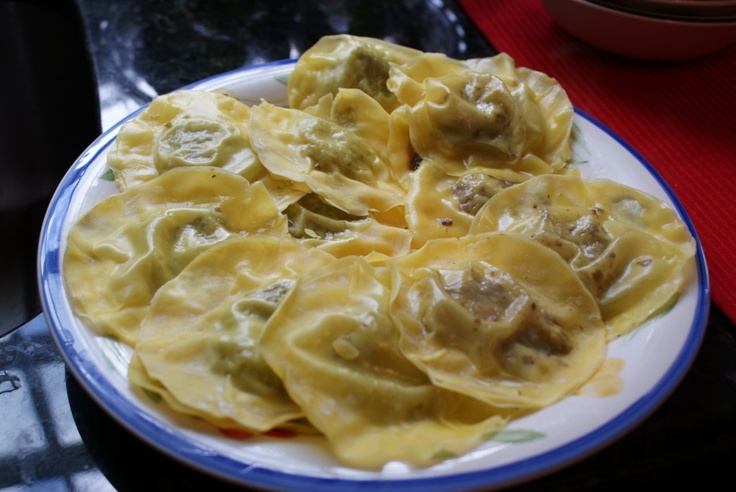 Recipe: Mushroom and Sun-dried Tomato Ravioli