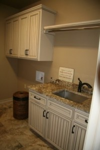 clothes rod over sink in laundry room | For the Home ...