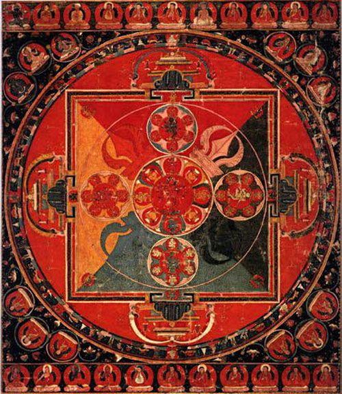 Pin by Julie Dexter on Art: Tibetan & Mandalas | Pinterest
