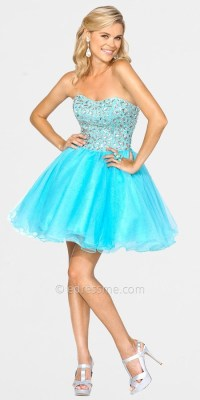 Short poofy prom dress | Dresses | Pinterest