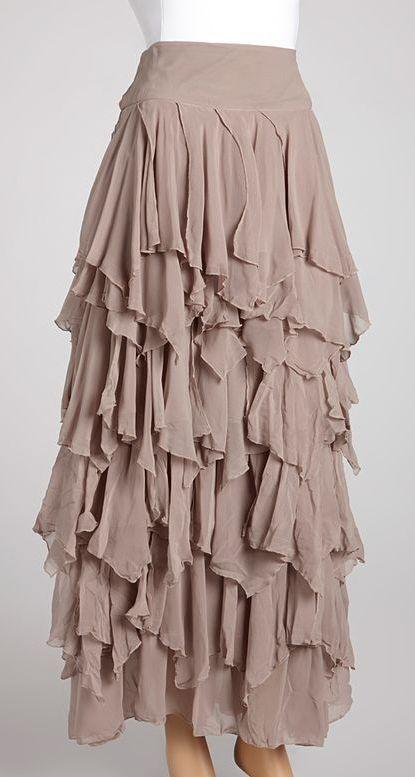 Layered Skirts Tunics