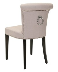 Ring back dining room chair