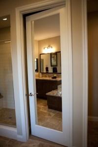 Mirrored French Closet Doors