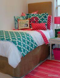 cute dorm bedding Decor2UrDoor!   College   Pinterest