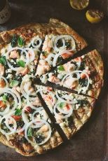 Lobster Grilled Pizza by Tartelette