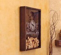 18x24 Wine Cork Holder Wall Decor Art / Personlized ...