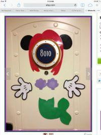 Mickey Pirate Body Part Cruise Ship Door | Joy Studio ...