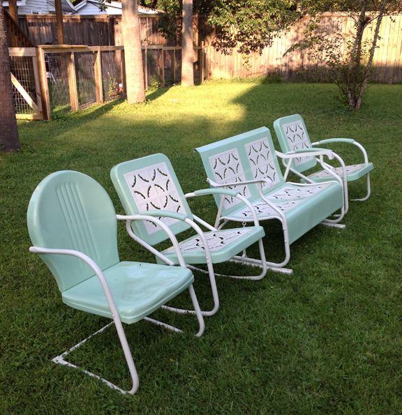 Vintage Patio Chairs Example  pixelmaricom