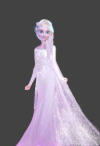 Elsa's wedding dress | Frozen! | Pinterest
