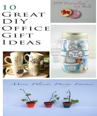 10 great DIY office gift ideas | Christmas | Pinterest