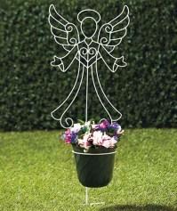 Memorial Flower Holder Stakes | tami | Pinterest