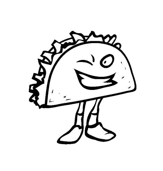 Junk Food Coloring Pages Coloring Pages
