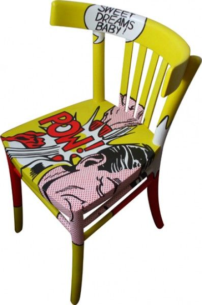 Pop Art Chair Lichtenstein