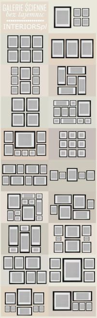 pinterest frame arrangement ideas | frames - photo | Pinterest