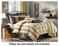 Woolrich Oak Harbor Bedding Collection Comforter Set
