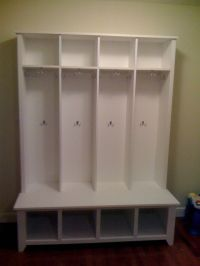 Mudroom Locker Mud Room Bench Coat Rack Shoe Bench