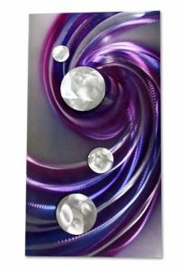 Purple Metal Wall Art | Purple Passion | Pinterest