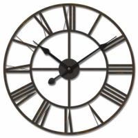 Black Iron Wall Clock - 800mm diameter | JV | Pinterest