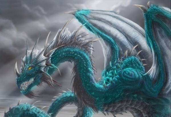 turquoise dragon Pictures of Dragons and Castlesect