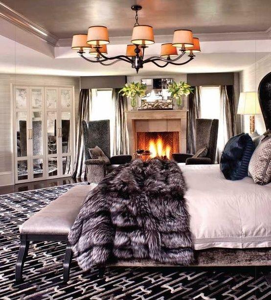 Kris Jenners bedroom  home decor  Pinterest