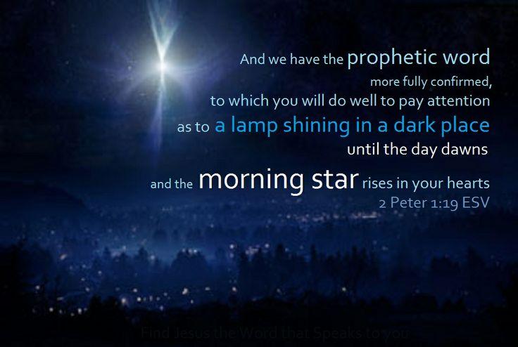 2 Peter 1:19 #JesusCalling #December23