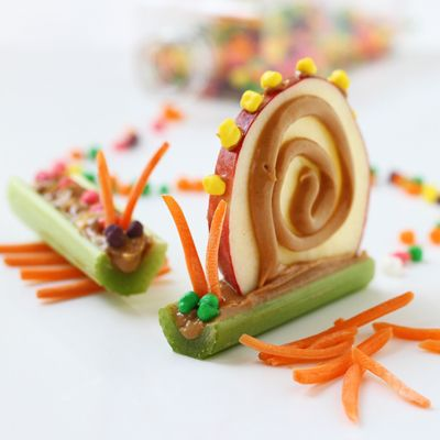 Adorable Bug snacks. Lots of substitutions but adorable