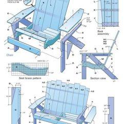 Skull Adirondack Chair Plans Lift Chairs Medicare :: Diy | Fab Furniture Pinterest