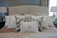 pillow arrangement for king size bed | Bedrooms | Pinterest