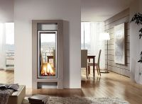 vertical and 2-way fireplace | Home... Cool Spaces | Pinterest